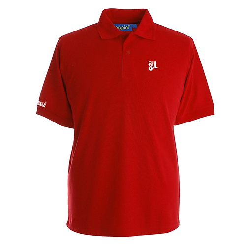 Retro Red N. Soul Fist4 Polo
