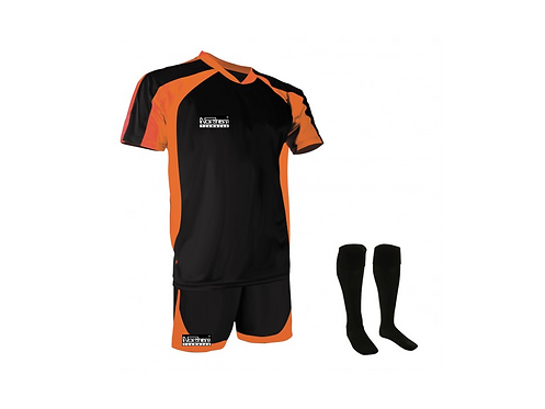 Teamwear Training Kit Black/Orange