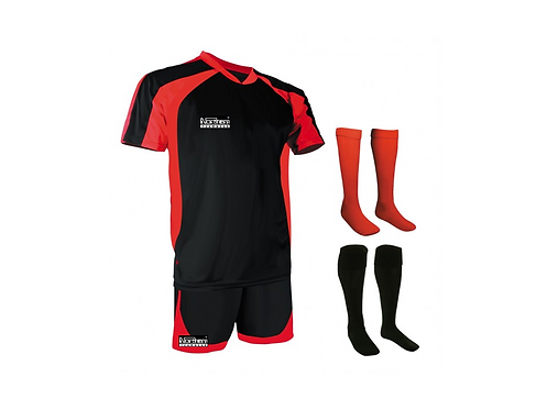 Teamwear Training Kit Black/Red
