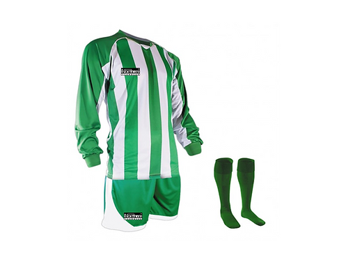 Teamwear Striped kit Green/White
