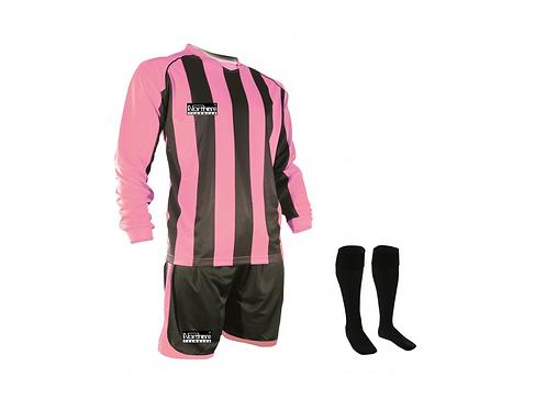 Teamwear Striped kit Pink/Black