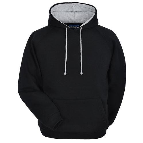Bespoke Hoodie Black/Grey