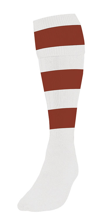 Contrast Hoop  Club Sock P2  2.99