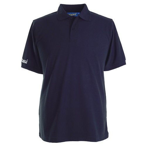 Bespoke Navy Polo