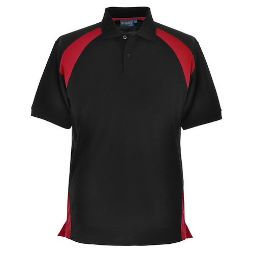 Elite Black-Red Polo Shirt