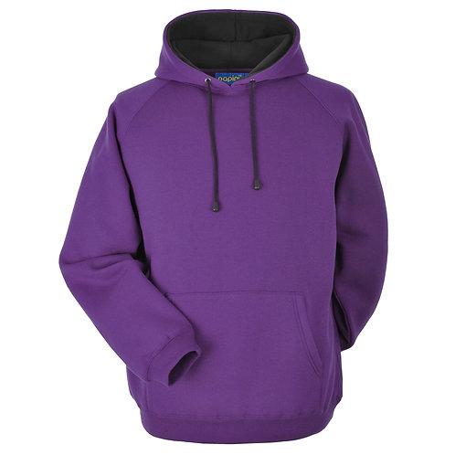 Bespoke Hoodie Purple/Black