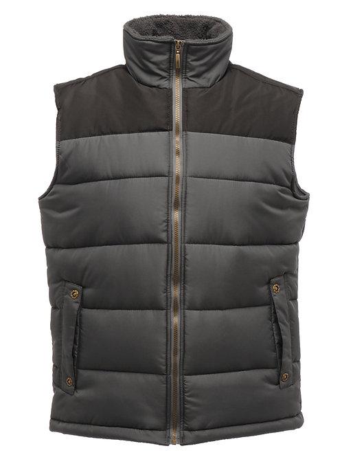 Bespoke Regatta Body Warmer Grey-Black