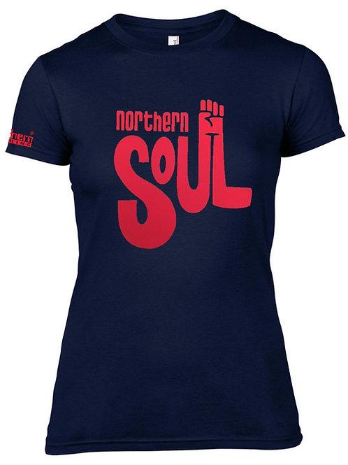 N. Soul Fist 4 Ladies T-Shirt