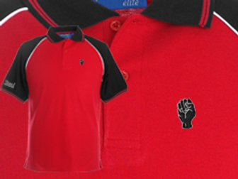 Discreet Fist Polo Red/Black