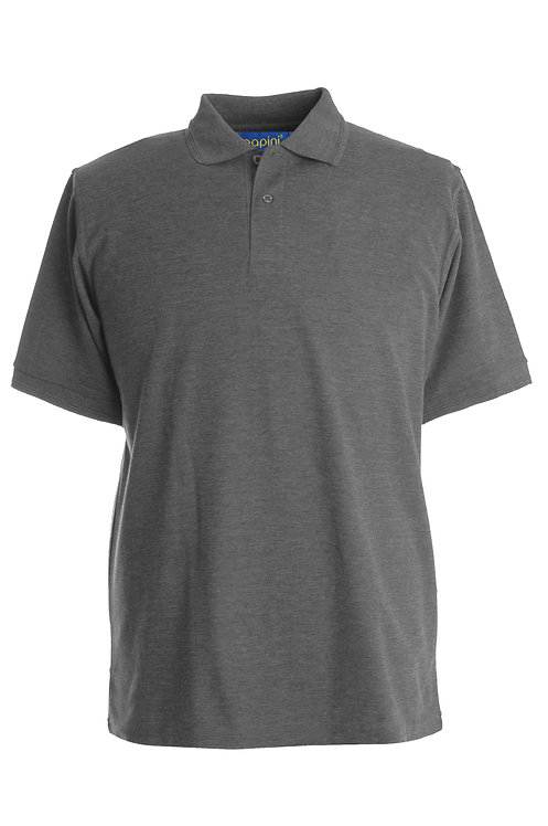 Dark Grey Polo Shirt From