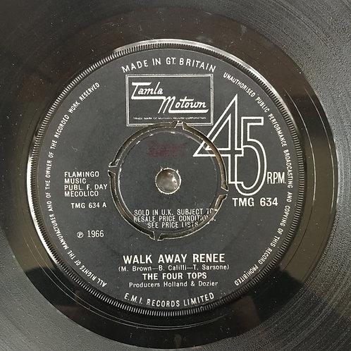 Four Tops. 'Walk Away Renee'