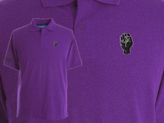 Discreet Fist Polo Purple