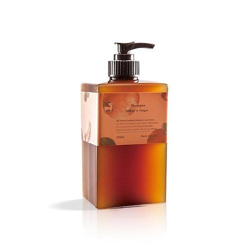 【薑心比心】 甜薑丹橘洗髮精 500ml