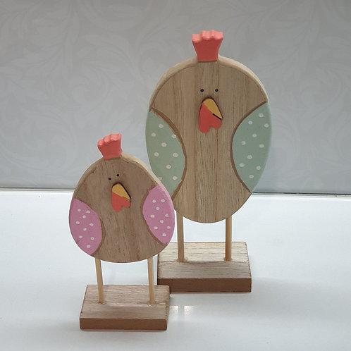 Chicken on stand