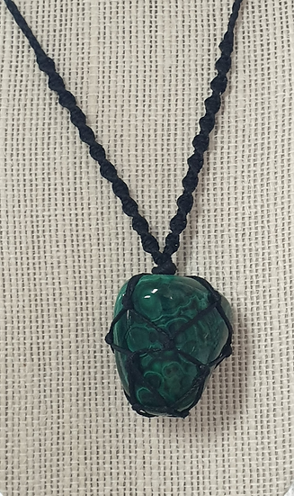 Necklace - Malachite