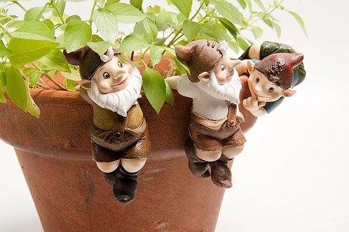 Garden Gnome Pot Sitters