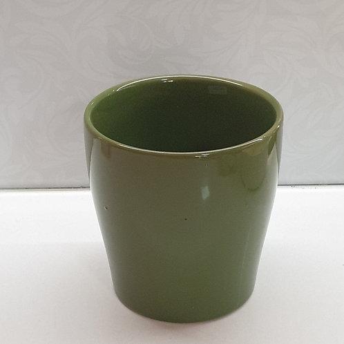 Green Taper Pot