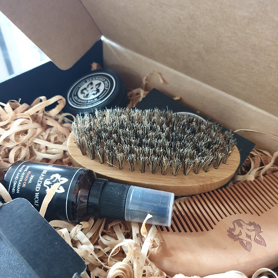 The Bearded Wolf Deluxe Beard Pack