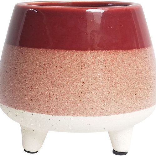Berry Speckle Pot