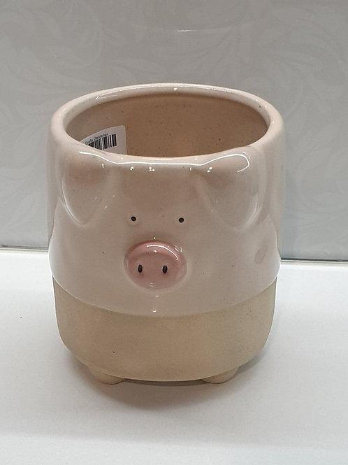 Pink Pig Planter