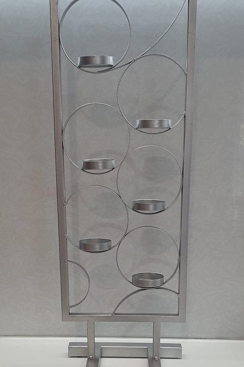 Silver Tealight Candleholder