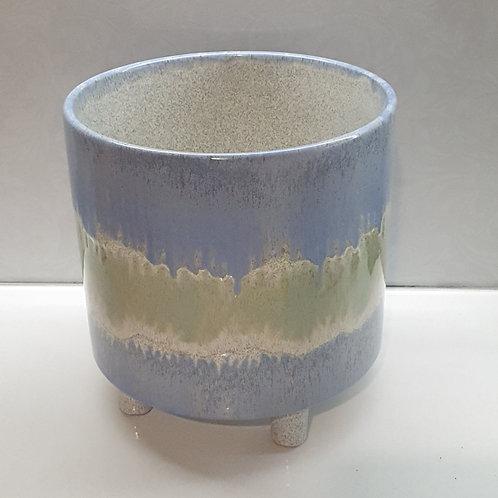 Green Blue Pot