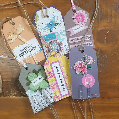 Gift tag picks