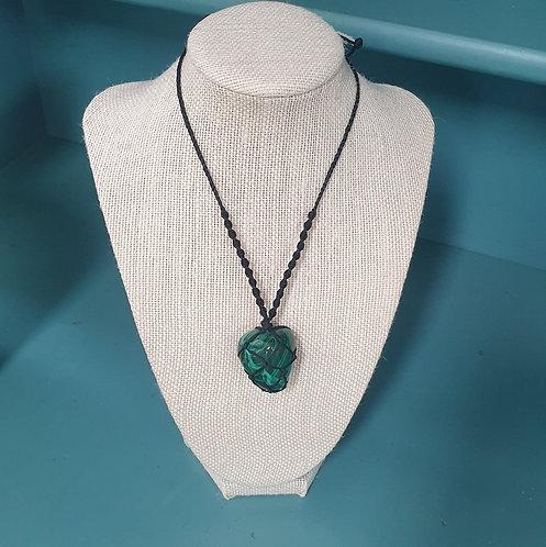 Precious Stone Macramé Necklaces