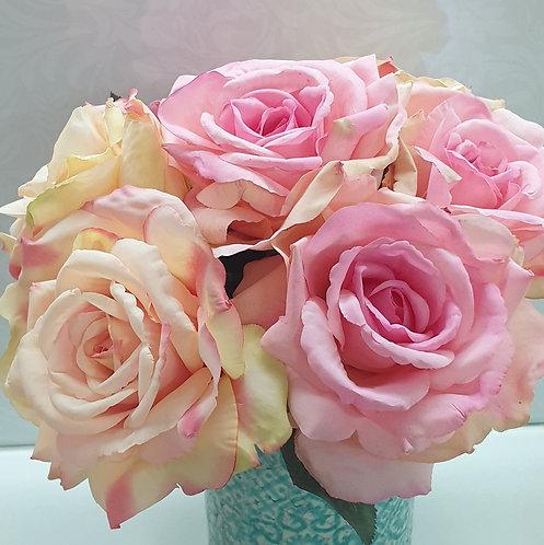 Single Stem Rose Bloom