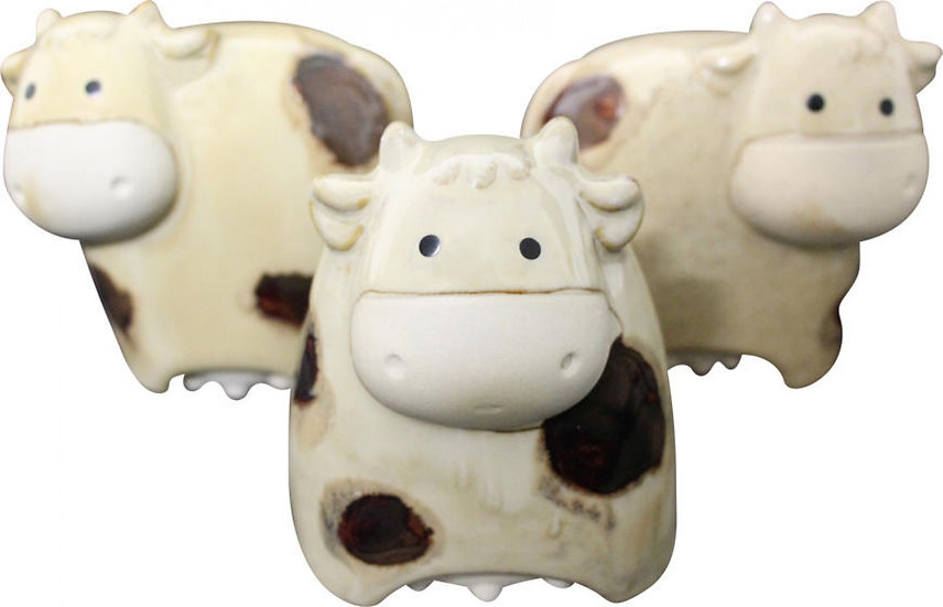 Set of 3 Cow Figurines