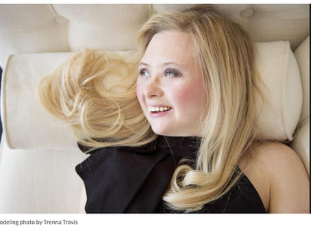 Model with Down Syndrome breaks stereotypes