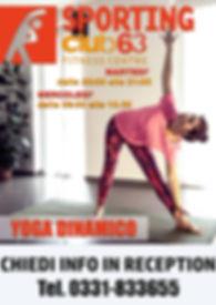 Corso Yoga dinamico Tradate