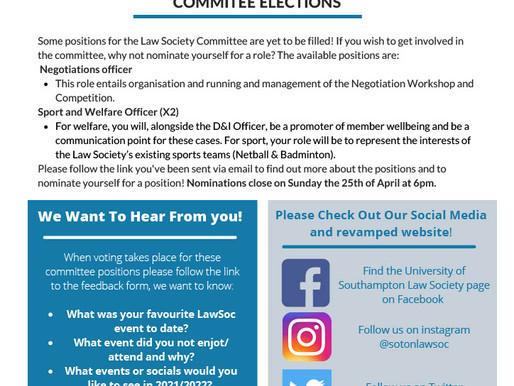 Law Society Bulletin- 20/04/21
