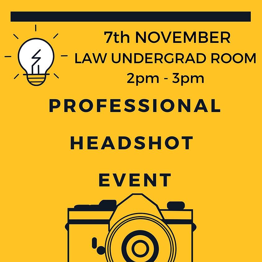 Professional Headshot Event