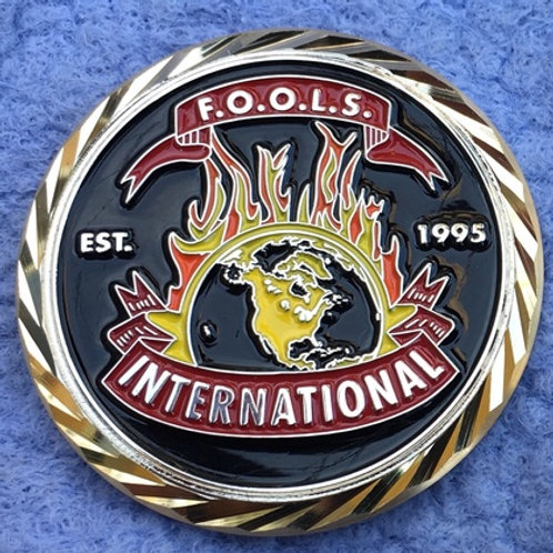 NEW F.O.O.L.S. Challenge Coin