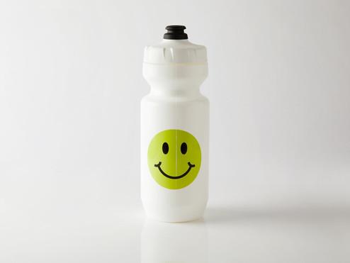 Fingerscrossed BIDON SMILEY WHITE