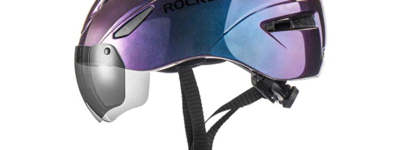 Шлем RockBros с визором. Цена 250 руб./сутки