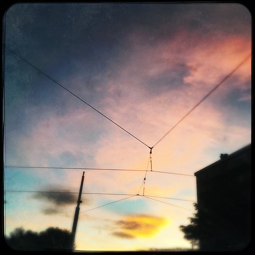 Montpellier, couché de soleil, printemps , guillaume chaplot