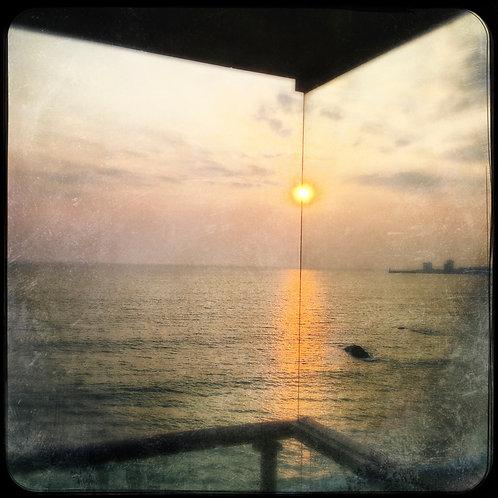 couché de soleil, Sables d'olonne, océan, mer , guillaume chaplot