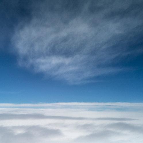 ciel, avion, mer de nuage, guillaume chaplot