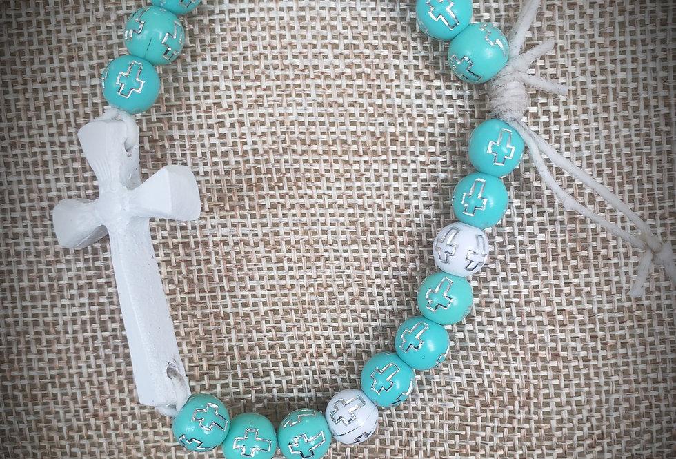 Angelic Beaded Bracelet