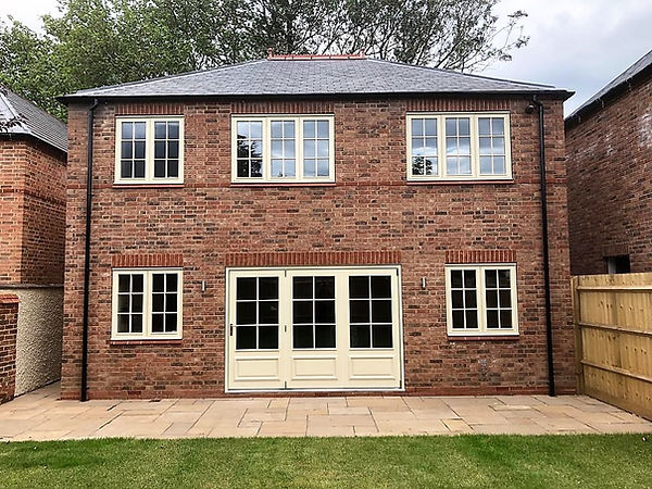 New Build Home Timber Joinery