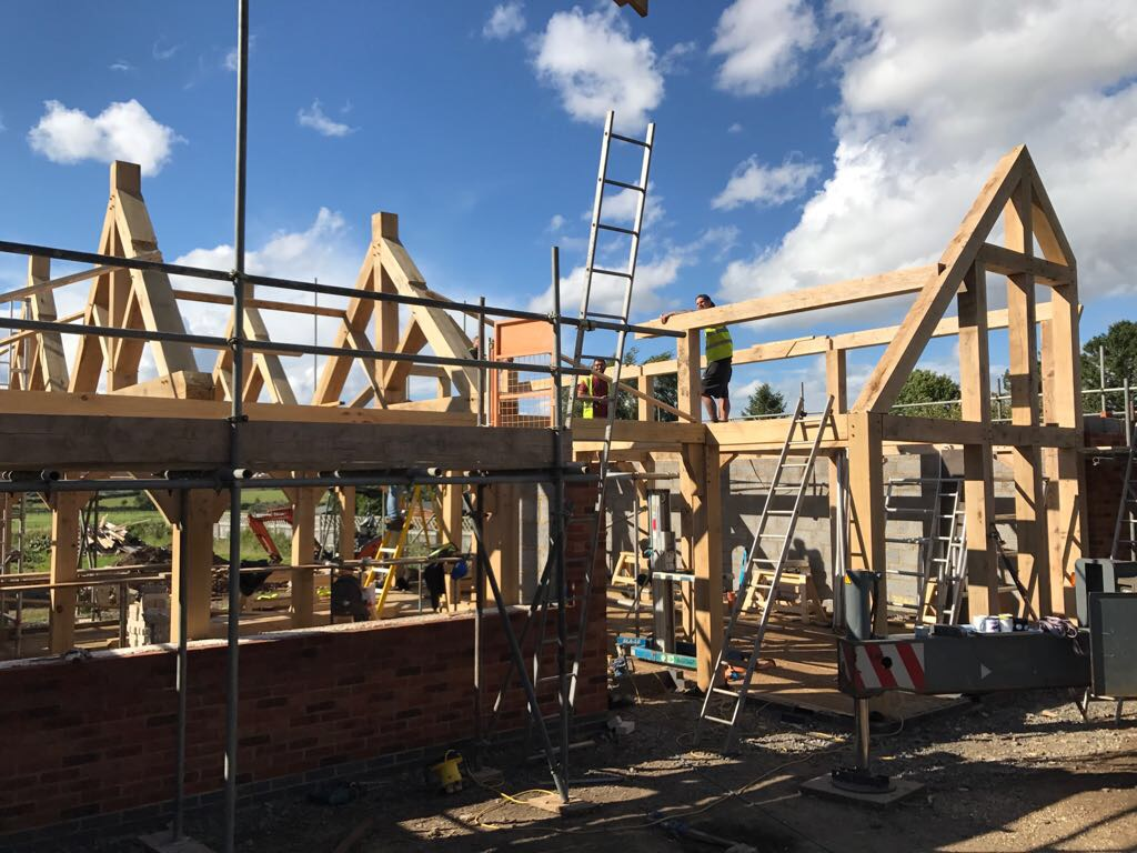 Oak Frame New Build House
