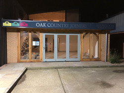 Oak Country Joinery Showroom At Night