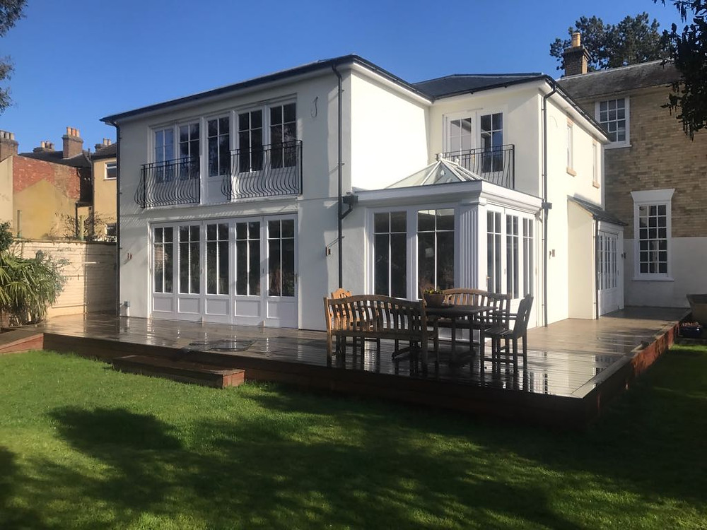 Period Townhouse: External Joinery, Orangery & Roof Lantern
