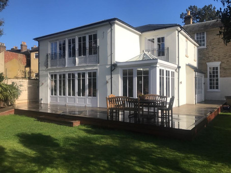 Period Townhouse, Joinery for Extension and Renovation, Warwickshire