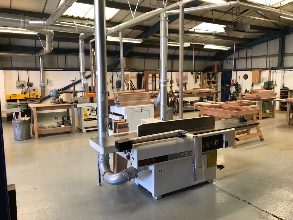 Oak Country Joinery Workshop