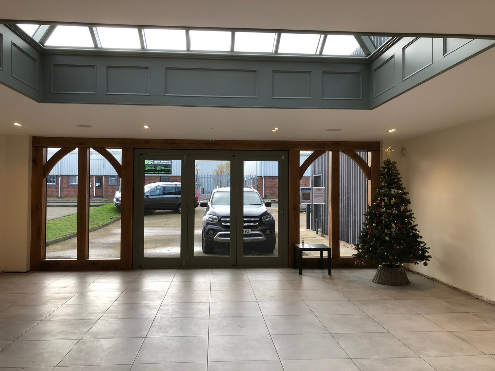 Oak Country Joinery Showroom, Interior
