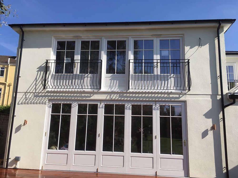 Townhouse Extension with Bi Folding and French Doors