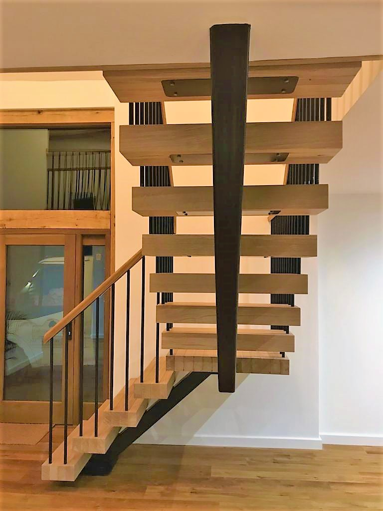 Oak Open Tread Staircase